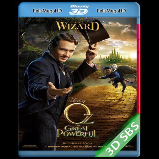 OZ: EL PODEROSO (2013) 3D SBS 1080P HD MKV ESPAÑOL LATINO