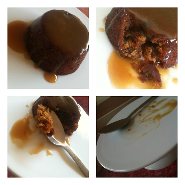 national secret : STICKY DATE PUDDING >> STARTS WITH CUPCAKES