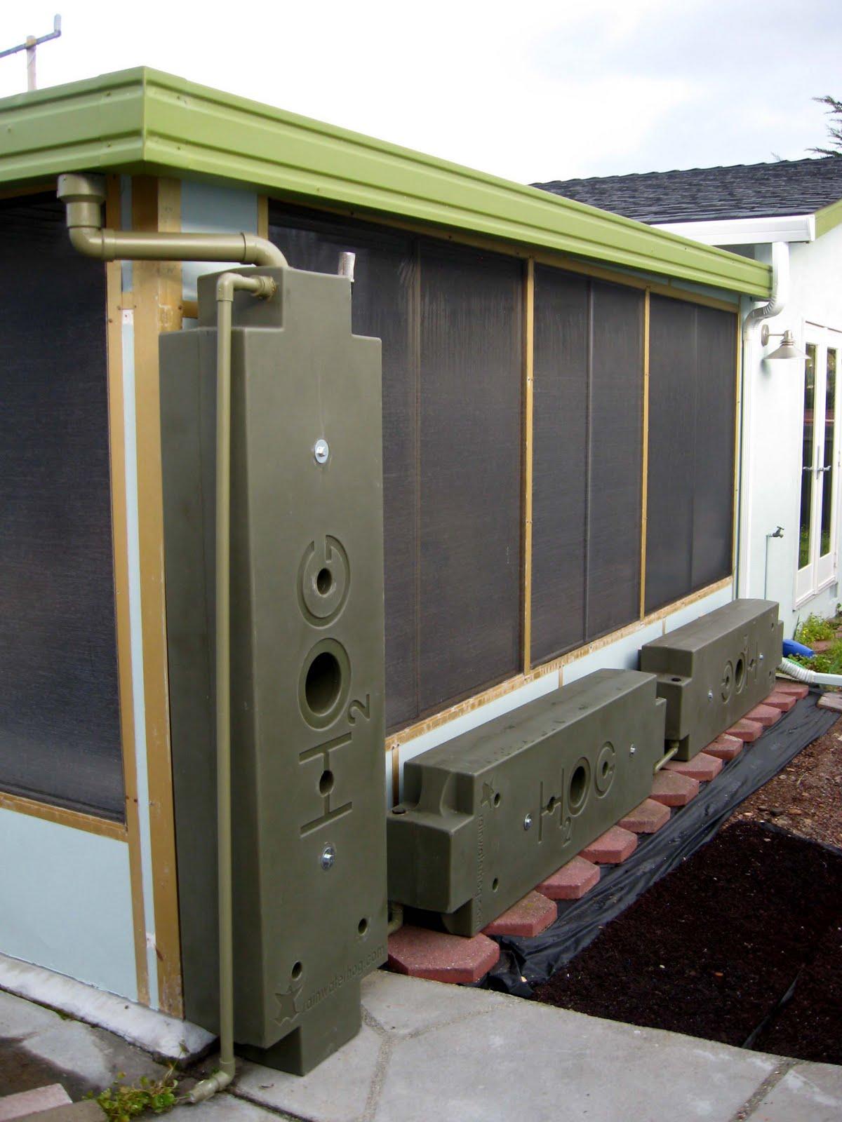 Light Houses Design Build 200 Gallon Rainwater Hog