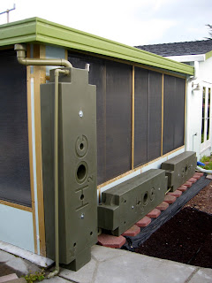 Light houses design build 200 gallon rainwater hog for Rain harvesting system design