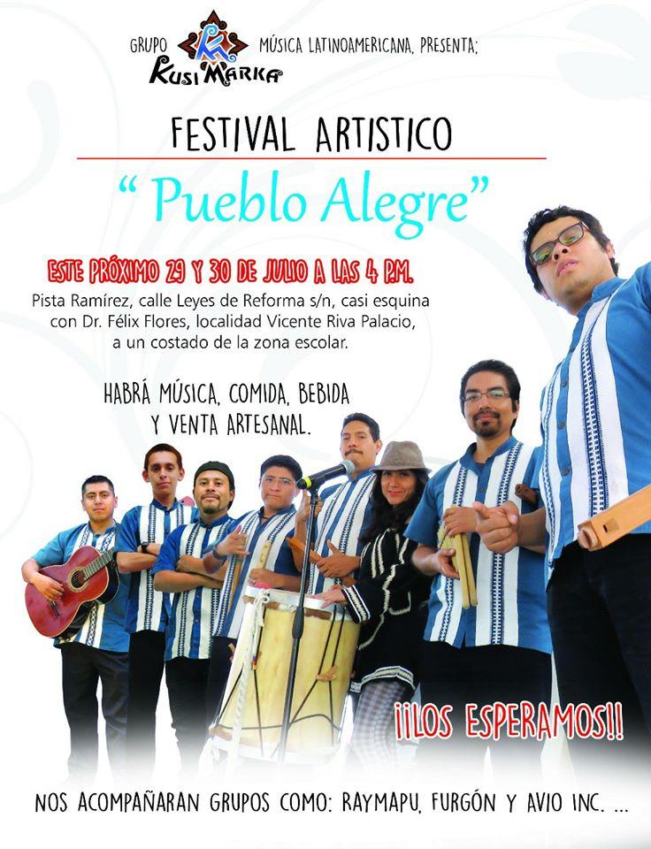 FESTIVAL PUEBLO ALEGRE - TEXCOCO ESTADO DE MEXICO - MEXICO