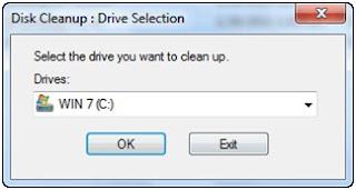 membersihkan gambar thumbnail cache di explorer windows 7 dan Vista