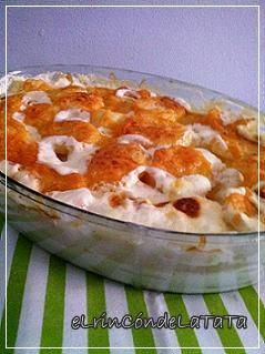 Elrincondelatata gratinado de patatas con queso - Gratinado de patata ...