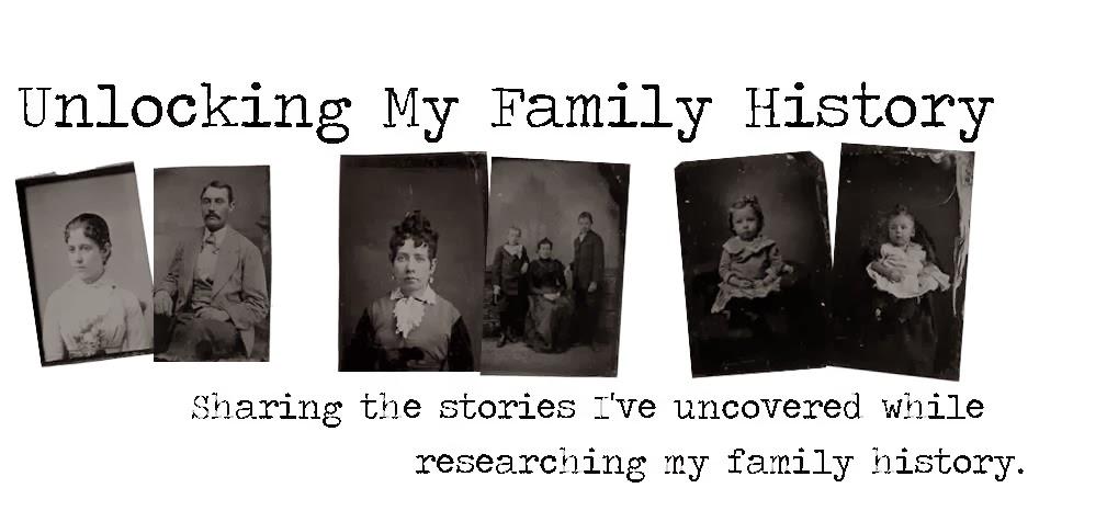 Unlocking my Family History