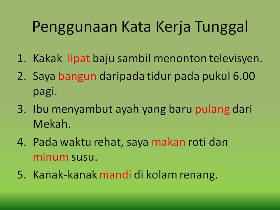 Bahasa Malaysia Tatabah As A Lessons Tes Teach