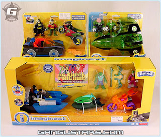 Fisher-Price Imaginext DC Super Heroes Batmobile Boat action figures batman dc comics バットマン