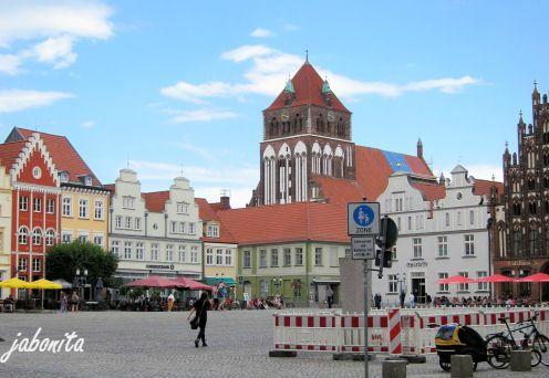 Hansestadt-Greifswald-Marktplatz
