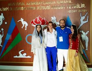 Η Προπονήτρια Ά Taekwondo Κεντρικής Στερεάς με την Εθνική μας ομάδα Taekwondo.