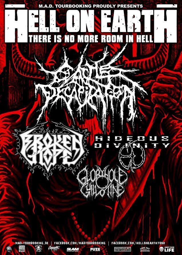 12. 9. CATTLE DECAPITATION, BROKEN HOPE, HIDEOUS DIVINITY - Brno, Melodka