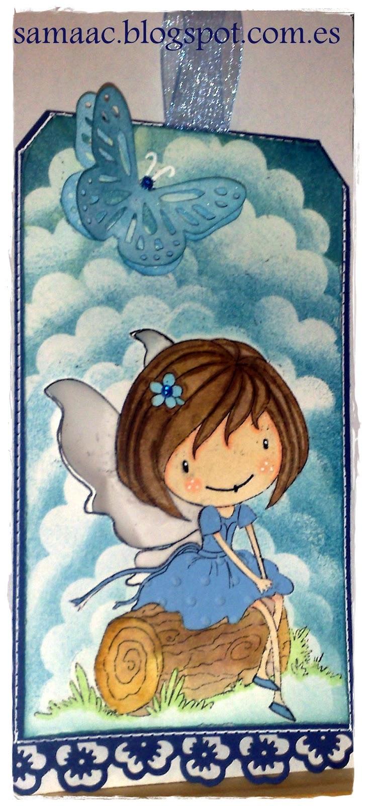 Q tutorial scrapbooking fondo de nubes - El rincon azul de angela ...