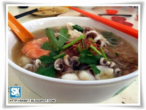 Seafood Noodles in Ipoh