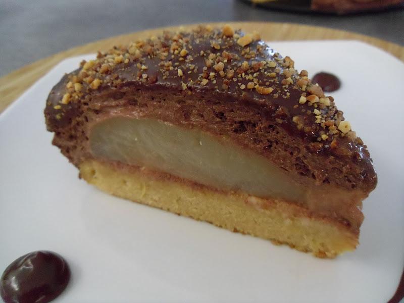 Gourmande ou passionn e poire chocolat sur fondant caramel au beurre sal - Fondant caramel beurre sale ...