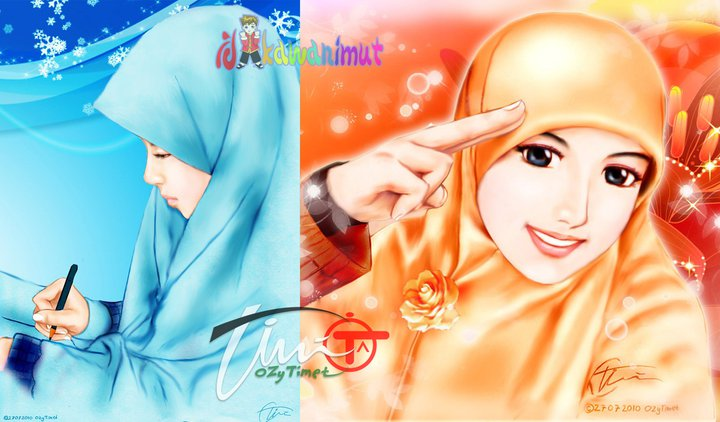 Gambar Anime Islami Ikhwan