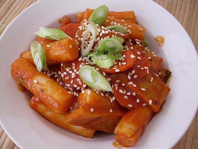 Korean Deep Fried Rice Cake