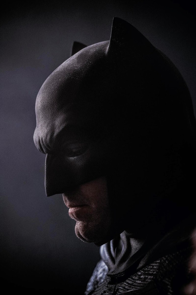 short ears Batman cowl Affleck face picture