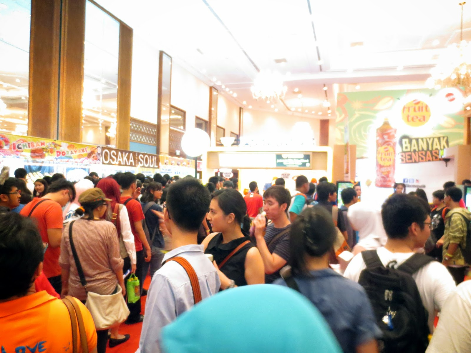 AFA ID 2014 exhibition atmosphere