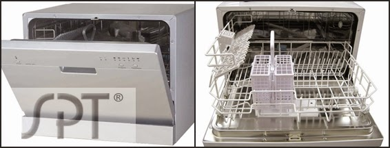 the new spt countertop dishwasher sd2201 series model spt sd2201