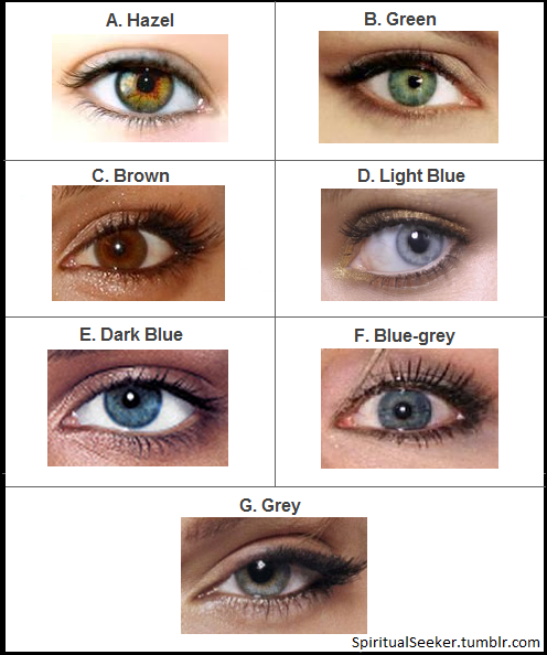 Personality Trait Eye Color And Your Personality Traits