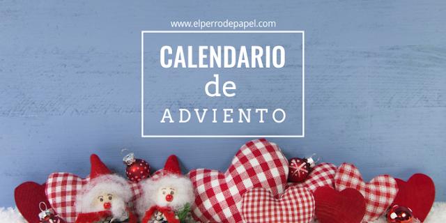 Calendario de Adviento imprimible para Navidad