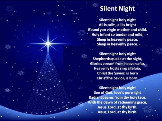 "Bing Crosby ""Silent Night"" Lyrics | online music lyrics"