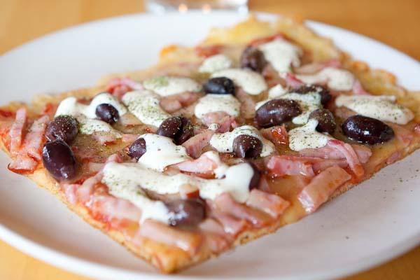 lchf pizza fiberhusk