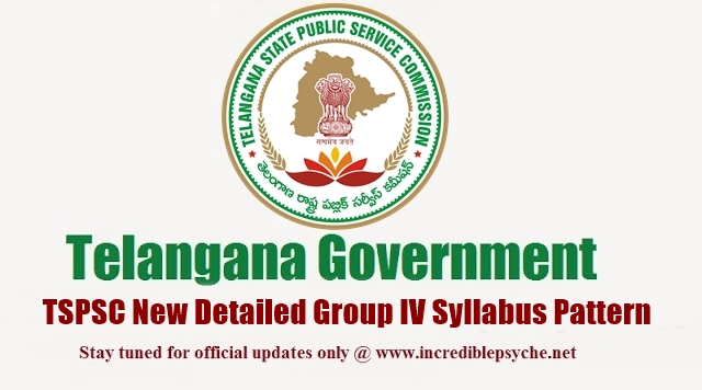 How to Download Telangana TSPSC Group IV Services Syllabus in Telugu