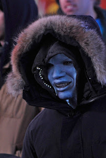 jamie foxx as electro in the amazing spider-man 2