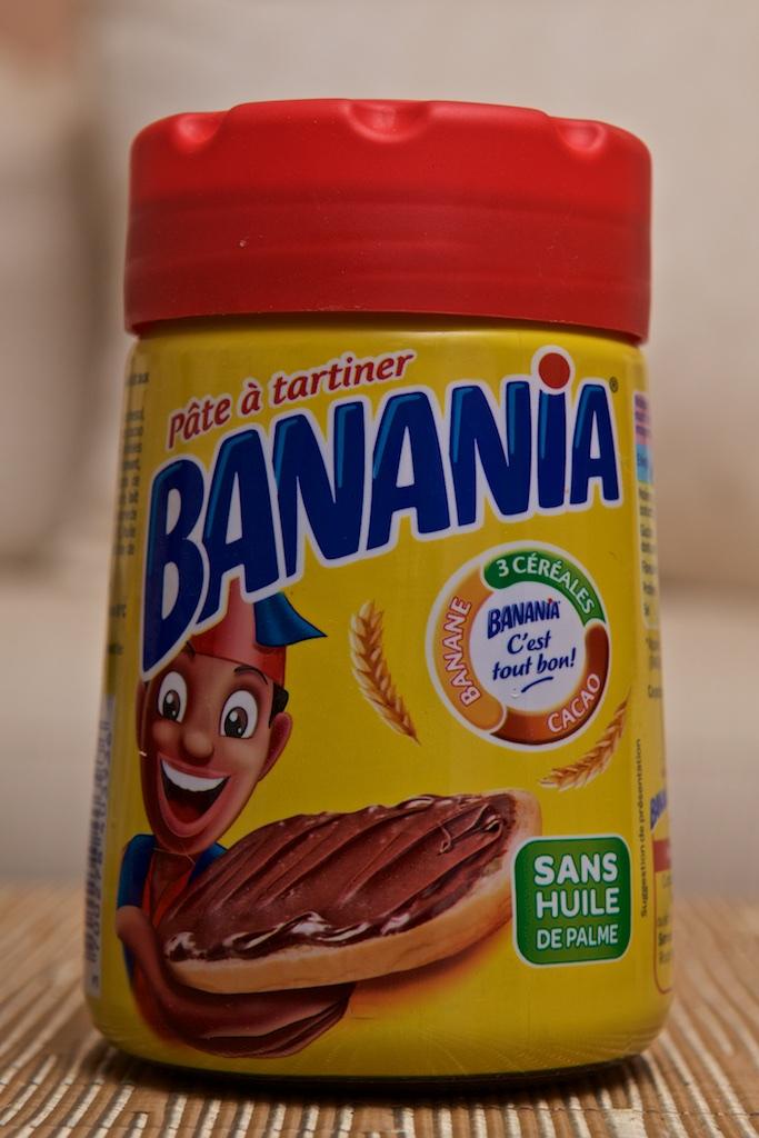 p 226 te 224 tartiner 400g par banania