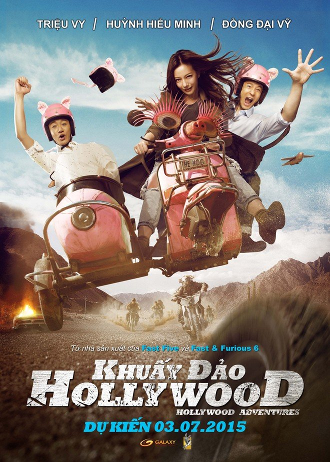 Khuấy Đảo Hollywood - Hollywood Adventures