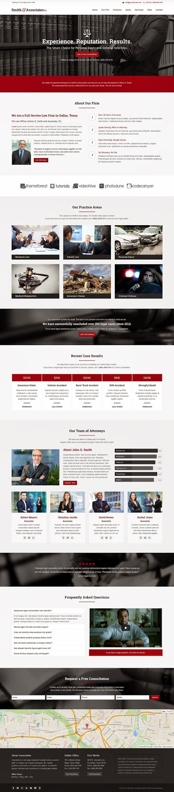Best Lawyer and Attorney Joomla Template 2015