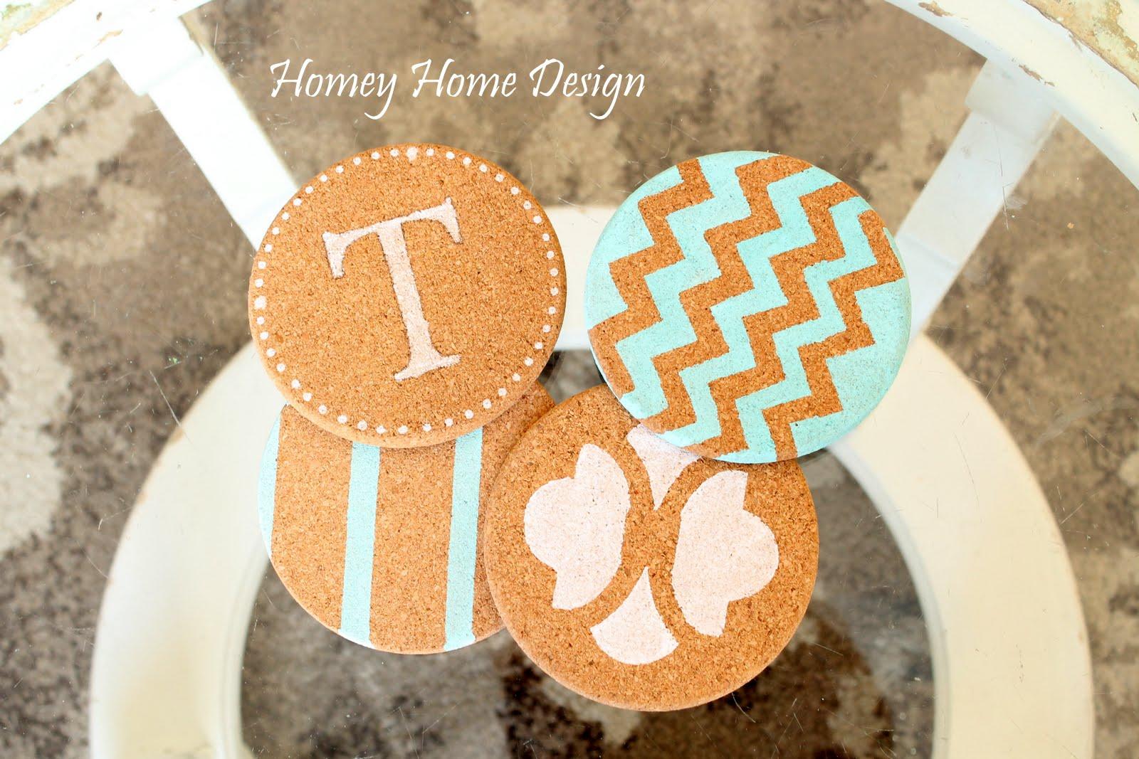 Homey Home Design Cute Coaster Diy