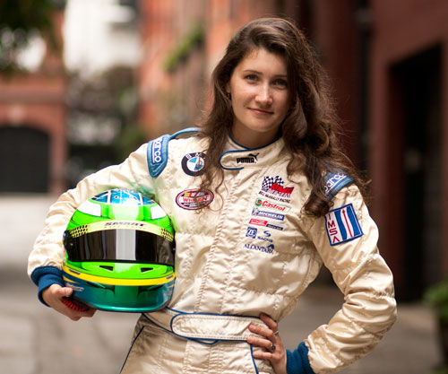 from Elliot nude female race car driver s pics
