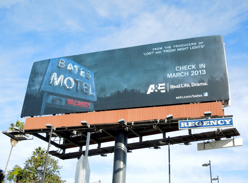 Bates Motel season 1 billboard