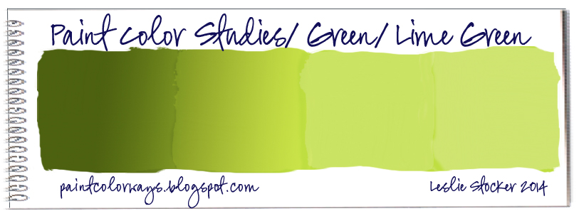 colorways: color studies/green/lime green