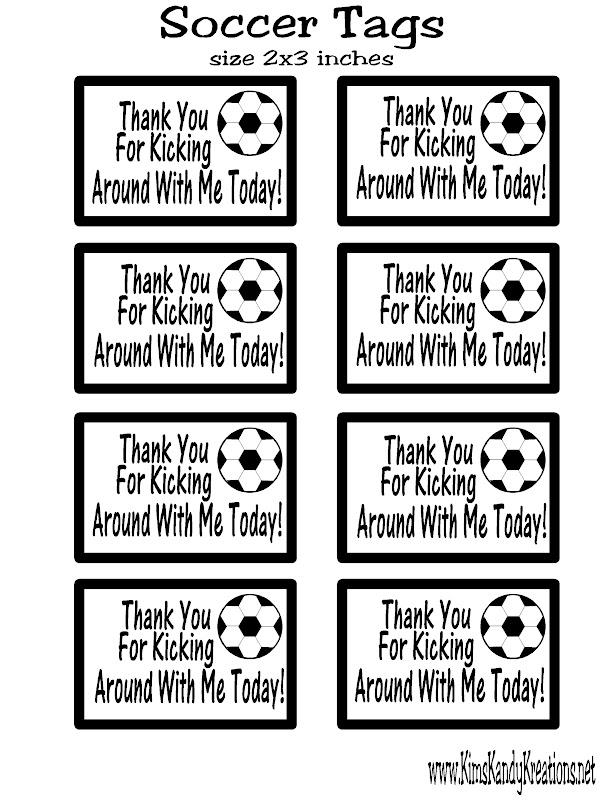 Soccer Ball Chocolate Candy Box Favor amp Free Printable