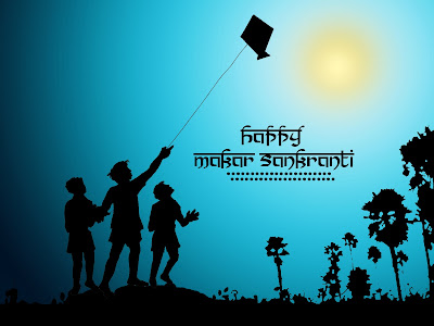 Free Online Makar Sankranti Text Messaging 2015
