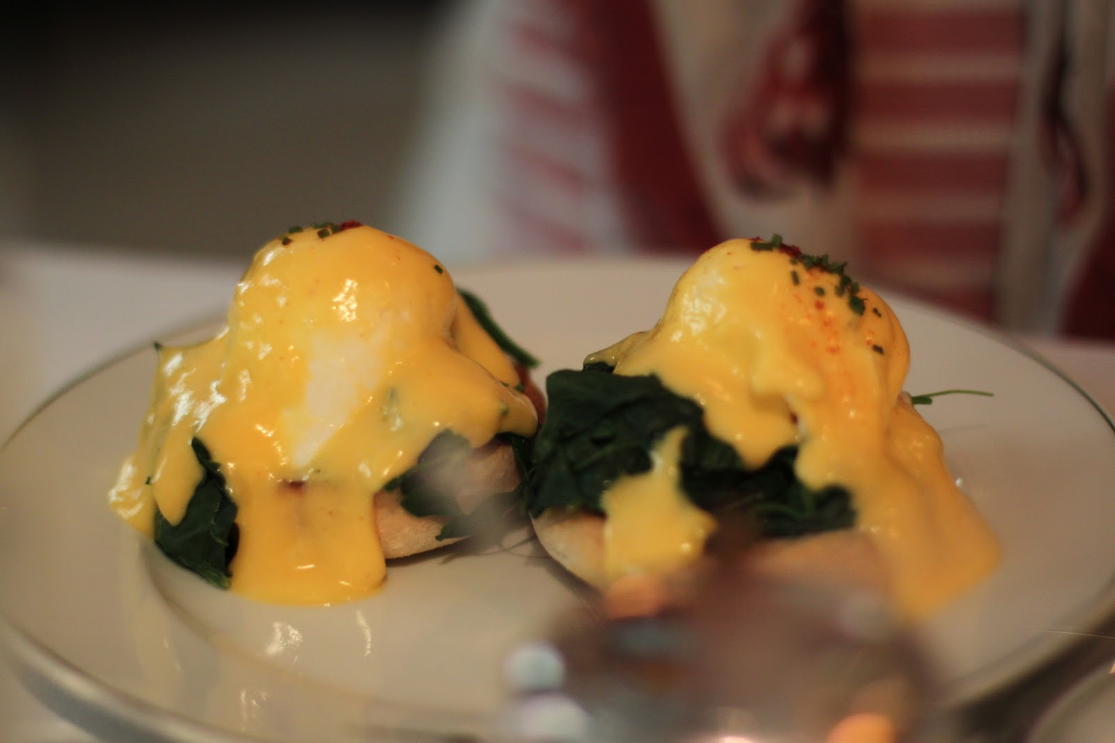 Eggs Florentine at The Delaunay