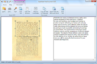 image to word software , OCR  software ,