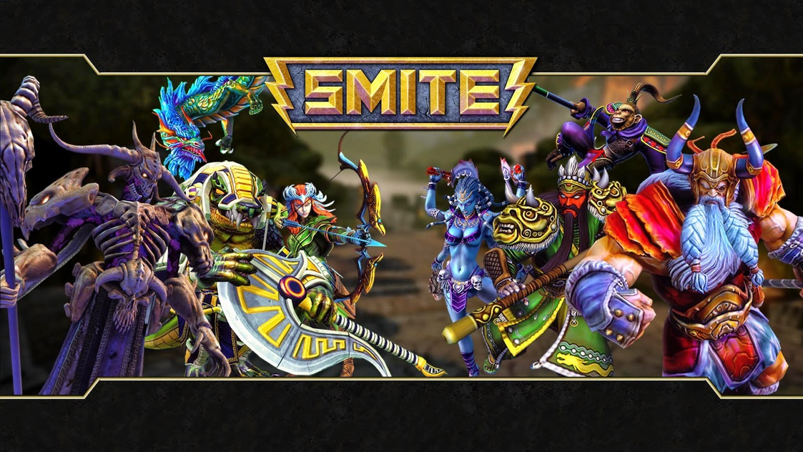 Smite - Multiplayer Games Online