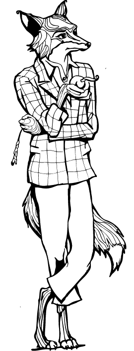 Fantastic Mr Fox Coloring Pages