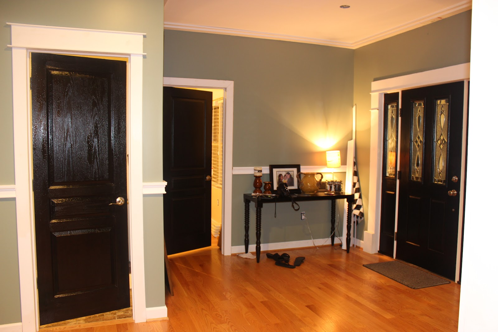 Elegant look of black interior doors bfm family now with powder room door planetlyrics Image collections