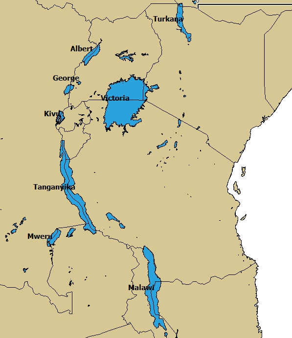 The Sources Of Hapi Are Two Great Lakes Located Deep In The Heart Of  Africa; Lake Mwanza (Victoria) And Nyanza (Rudolph). As The Clouds Laden  With Moisture ...