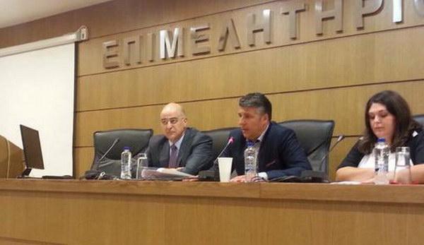 """Ενημερωτική εκδήλωση του Επιμελητηρίου Έβρου για τα """"κόκκινα δάνεια"""" με ομιλητή τον Νίκο Δένδια"""
