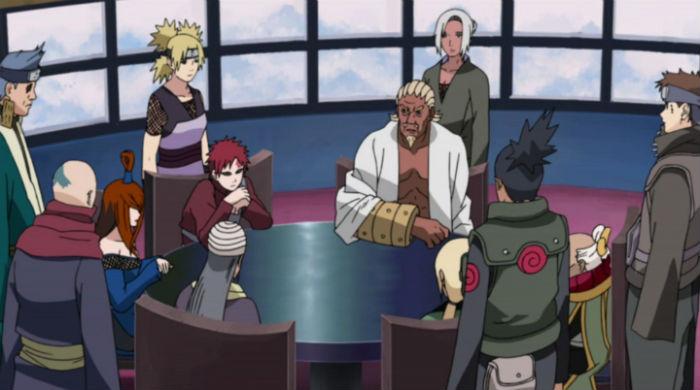 Naruto Shippuden Five Kage Summit Episode