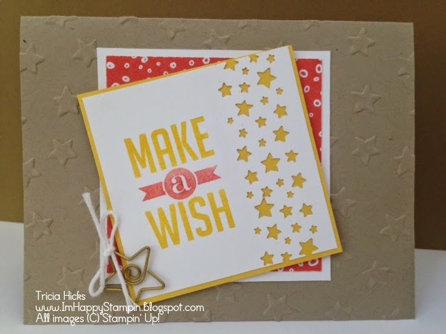 Stampin' Up!, Perfect Pennants, Park Lane dsp, lucky stars, confetti stars