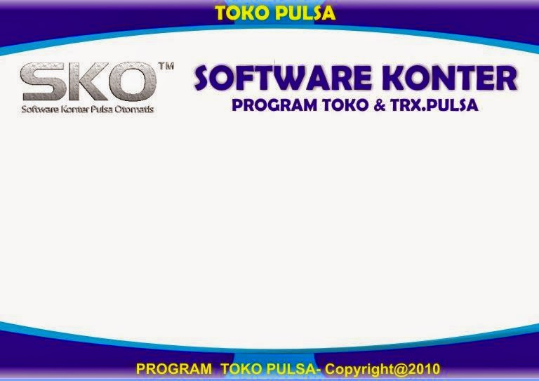software counter kios pulsa gratis
