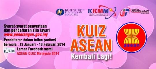 ASEAN QUIZ MALAYSIA 2014