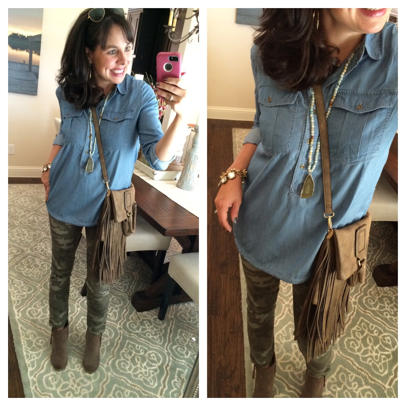 camo love: camo pants styled 3 ways — sheaffer told me to