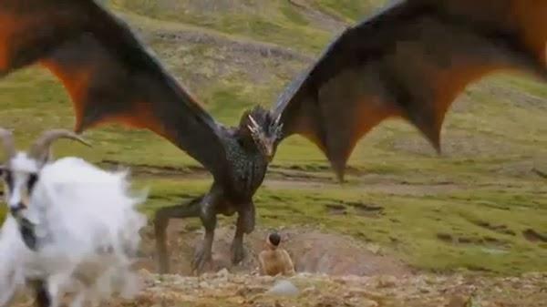 Dragon de Juego de Tronos