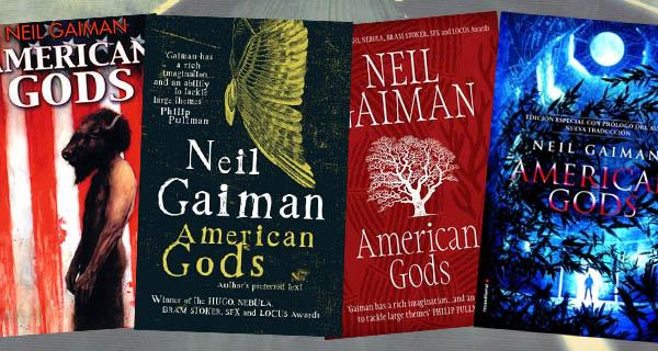 Portadas American Gods